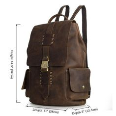 3358975cf9c0 Account Suspended. Vintage Leather BackpackLeather ...
