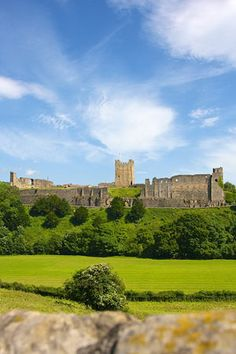 Richmond Castle, Yorkshire, UK......hmmm, Dave, maybe you have some wealthy relatives?!