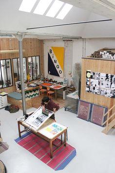 or Bingo shop Interior Architecture, Interior And Exterior, Bingo, Workshop Studio, Garage Workshop, Studio Room, Studio Spaces, Design Apartment, Workspace Inspiration