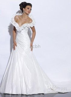 Popular new white ivory wedding dress W1522 on AliExpress.com. $198.00