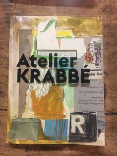 Atlas Contact    Jasper Krabbé maakt gelimiteerde, handgeschilderde editie van zijn boek Atelier Krabbé : Atlas Contact