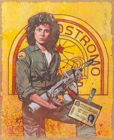 Alien - Ripley by Mark Raats *