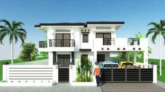 House Plan Purchase - Sets of Plan Blueprint Signed & Sealed) - Only Construction Contract: P M - Low-End/Budget P M - Mid-Range/Standard. Simple House Plans, Modern House Plans, Modern House Design, House Floor Plans, Modern Houses, Tiny Houses, New Home Construction, Construction Contract, Philippines House Design