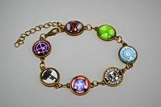 Avengers bracelet.