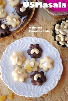 US Masala: Chocolate and Malai Peda for Holi/Five Minute Chocolate and Milk Fudge