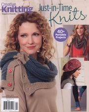 Creative Knitting 2015 04 Just in Time Knits
