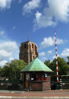 Oldehove, Leeuwarden, Friesland. The Netherlands