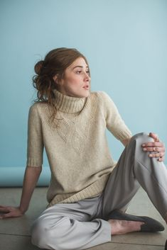 The Knitted Dress Reimagined: the Sloan Dress by Norah Gaughan Knitting Ideas, Knitting Patterns, Summer Knitting, Comfort Zone, Knit Dress, Cold Weather, Turtleneck, Knitwear, Delicate
