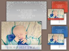 Weihnachtskarte «Sternenhimmel»