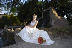beautiful bride in front of the waterfall near the jasmine chapel Perfect Photo, Beautiful Bride, Jasmine, Waterfall, Shots, White Dress, Pictures, Dresses, Fashion