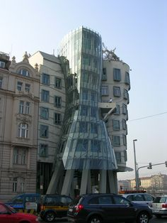 Non-fairy tale Prague - check out the modern architecture, like Frank Gehry's Dancing House