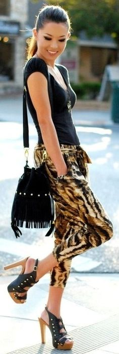 bold animal style ♥✤ | Keep the Glamour | BeStayBeautiful