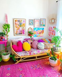Indian Home Interior .Indian Home Interior Living Room Decor, Bedroom Decor, Cozy Bedroom, Colourful Living Room, Stylish Home Decor, Indian Home Decor, Home And Deco, Home Decor Furniture, Furniture Ideas