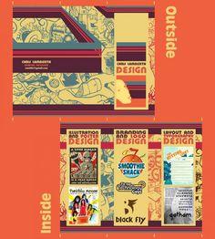 brochure design illustration