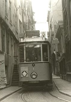 1951/Bakkerstraat Amsterdam Holland, New Amsterdam, Old Pictures, Old Photos, Bonde, Light Rail, The Old Days, Old City, Utrecht