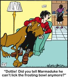 Marmaduke comic for May/05/2014