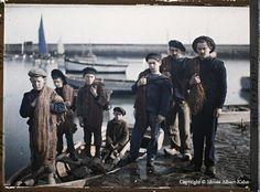 Fotos en color de gente de principios del siglo XX