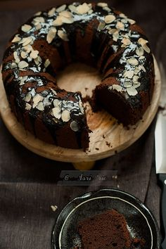 butter peanut chocolate cake by asri