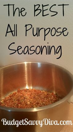 The BEST All Purpose Seasoning Recipe