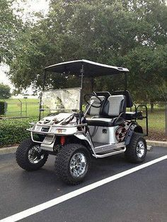 A Ad D A E E F A on 90s Yamaha Golf Cart