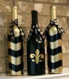 Botellas decoradas - 23