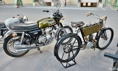 1907 GRIFFON 2 HP  1973 HONDA CB350F