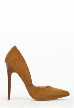 96e7cbc120a551 Chaussures Camari en Whiskey - Livraison gratuite sur JustFab Escarpins,  Livraison, Chaussure
