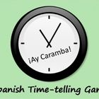 Fun Partner Game for Reviewing Time in Spanish