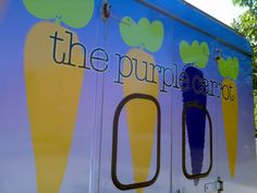 The Purple Carrot food truck! It would be fun to have a food truck at a wedding!