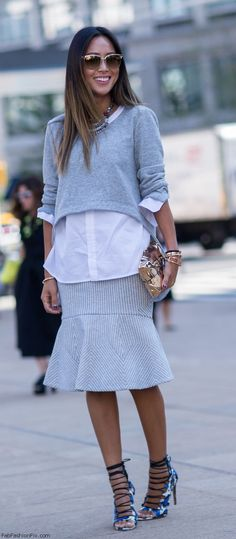 Best of street style at #NYFW.