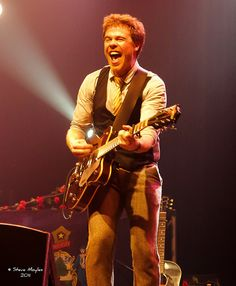 Because you can't help but smile when you see Josh Ritter in concert.