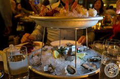 Seafood platter at The Wayfarer in NYC, NY