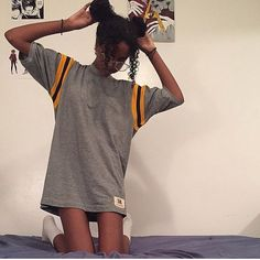 @gorillaagirll in #vintage tee dress from the shop!