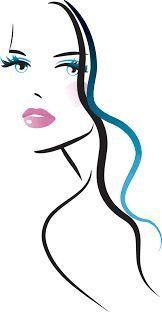 Fashion Woman Girl Face vinyl decal sticker wall art home salon decoration Pencil Drawings, Art Drawings, Minimal Art, Figure Drawing, Art Girl, Line Art, Pop Art, Illustration Art, Illustrations