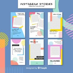 Millions of Free Graphic Resources. Social Media Template, Social Media Design, Frame Template, Templates, Big Data Visualization, Summer Story, Free Frames, Software, Instagram Design