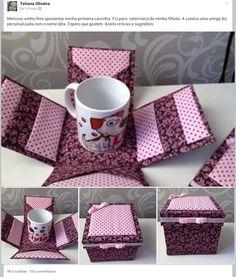 Mini caixa de café - Buscar con Google