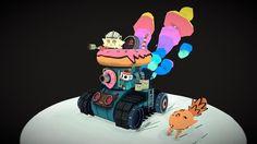 First Aid Tank! by Cristian Villalobos