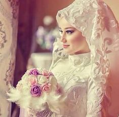 Muslim Wedding Dresses,Fashion,wedding hijab