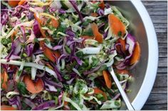 Mexican-inspired Slaw....would be great for tostadas, tacos and even a wrap.