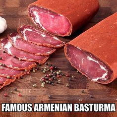 Basturma Link in bio @oddgifts  Basturma also known as Bastirma or Pastirma is a highly seasoned air-dried cured beef snack. If you like beef jerky or Prosciutto then this is a must for you. This particular brand Ohanyan's basturma was selected as the best in the world based on its selection of quality and high-grade meats used. Basturma is a gourmet Armenian delicacy similar to Italian Bresaola and Prosciutto. _____________________________________________ #breakfast #breakfastsandwich…