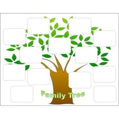 Free blank family tree template the non structured family tree free family tree template create a family tree with the help of these free templates for saigontimesfo