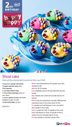 Turning two is really great, but spending it with you is icing on the cake! Yummy Recipes, Baking Recipes, Yummy Food, Brownie Recipes, Cookie Recipes, Cupcake Cases, Cake Mixture, South African Recipes, Paper Cupcake