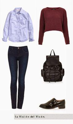 La Visión del Visón: Basics || Indigo jeans Jeans, Indigo, Polyvore, Outfits, Style, Fashion, Swag, Moda, Suits