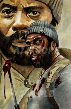 Tyreese - Strong Will By Artist AJ Moore