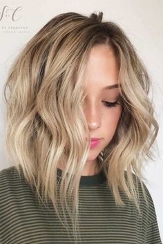 Non-Boring Ways to Wear a Lob Haircut ★ See more: http://lovehairstyles.com/lob-haircut-hairstyles/