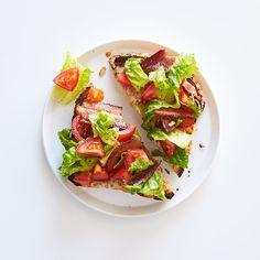 BLT Breakfast Cheese Toast   Recipes   Weight Watchers