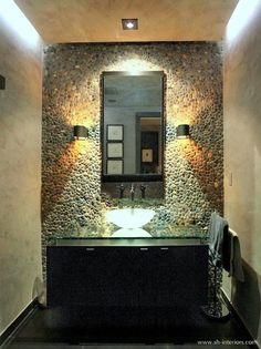 Powder Room Pool Bath Design, Pictures, Remodel, Decor and Ideas - page 8