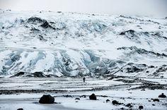 SOLHEIMAJOKULL GLACIER, ICELAND by LimeWave
