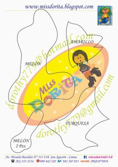 Miss Dorita: Forro Niña 5