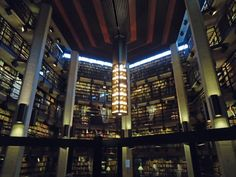 University of Toronto – Robarts Library - Thomas Fisher Rare Book Library Library University, University Of Toronto, Fisher, Empire State Building, Toronto Canada, Explore, City, Places, Garage